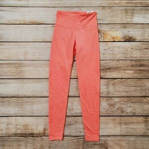 NWT Old Navy CozeCore Coral Pink High Rise Legging